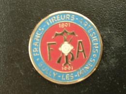 Pin's TIR - FRANCS TIREURS ARTESIENS - BULLY LES MINES - Pin's