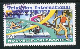 "TIMBRE Oblit. De 2005 ""80 F - Triathlon International 2005  à Nouméa "" - Usados"