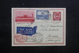 BELGIQUE - Entier Postal + Complément De Bruxelles Pour Berlin En 1932 Par Avion , Cachets Plaisants - L 36795 - Stamped Stationery