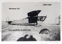 Photo Armée De L'air France Mai-juin 1940 Avion Mureaux 113 - 1939-45