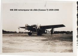 Photo Armée De L'air France Mai-juin 1940 Avion MB 200 - 1939-45