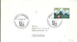 POSTMARKET 1968 SUIZA - Ajedrez