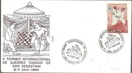 POSTMARKET 1982 ESPAÑA - Ajedrez