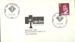 POSTMARKET 1980 ESPAÑA VIGO - Ajedrez