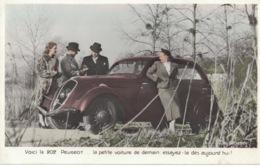 Peugeot 202 (1938) - Photo Neubert- - Voitures De Tourisme