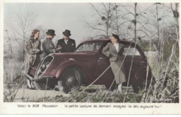 Peugeot 202 (1938) - Photo Neubert- - Passenger Cars