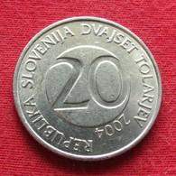 Slovenia 20 Tolarjev 2004 KM# 51  Eslovenia Slovenija Slovenie - Slovenia