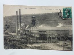 12 CRANSAC - MINES  Carte En Bel état - Aciéries De France - Puits N°1  DEN912 - Francia