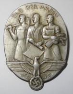 """1935 DR Badge """"Tag Der Arbeit"""" - 1939-45"""