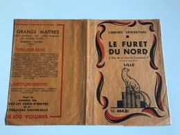 Protege Livre - Librairie Universitaire LE FURET DU NORD - LILLE Rue De La Vieille Comedie (place Rihour) - Vloeipapier