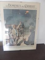 DOMENICA DEL CORRIERE 1954 WALTER MOLINO UFO MILANO NO CORNICE - First Editions