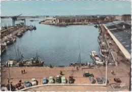 Bu - Belle Cpsm Grand Format LORIENT - Le Port De Pêche (nombreuses Voitures) - Lorient