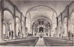 Bu - Cpsm Petit Format PLUMELIAU - Intérieur De L'Eglise - Autres Communes