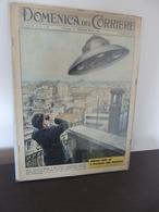 DOMENICA DEL CORRIERE 1962 WALTER MOLINO UFO MILANO NO CORNICE - First Editions