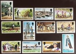 Pitcairn Islands 1977 Definitive Set No 70c MNH - Stamps
