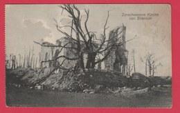 Russian /Russie - War 1914 -18 - Blisnicki (Narotsch - See ) - Zerschossene Kirche ... Destructions ( See Reverse ) ) - Oorlog 1914-18