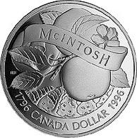 Canada, 1 Dollar 1996 - Silver UNC - Canada