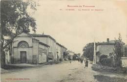 CPA 31 Haute Garonne St Saint Agne La Station De Tramway Banlieue De Toulouse - Toulouse