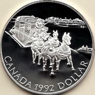 Canada, 1 Dollar 1992 - Silver Proof - Canada