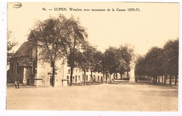 B-7229   EUPEN : Wirtplatz Avecmonument De La Guerre 1870-71 - Eupen