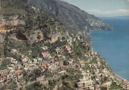 POSITANO-SALERNO-PANORAMA-CARTOLINA VERA FOTOGRAFIA VIAGGIATA IL 1-7-1973 - Salerno