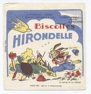 BISCOTTES  HIRONDELLE LIÈVRE ET TORTUE   -- Z901 - Biscotti
