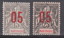 Martinique 78 **+ 79 ** - Martinique (1886-1947)