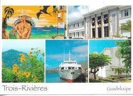 GUADELOUPE - LES TROIS-RIVIÈRES - 5 PETITES VUES - CPM - VIERGE - - Guadeloupe