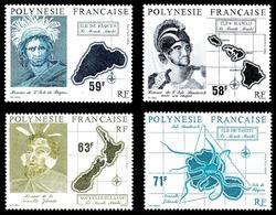 POLYNESIE 1990 - Yv. 354 355 356 Et 357 ** SUP  Cote= 78,50 EUR - Le Monde Mahori (4 Valeurs)  ..Réf.POL24014 - Polynésie Française