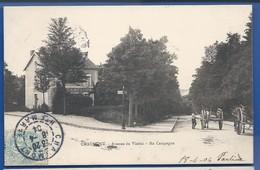 CHAUMONT  Avenue Du  Viaduc    Restaurant Ma Campagne   Animées        écrite En 1904 - Chaumont