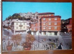 Carsoli Scorcio Panoramico VIAGGIATA 1973 - L'Aquila