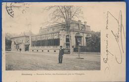 STRASBOURG    Brasserie Grüber Dite Baeckehiesel Près De L'Orangerie    Animées           écrite En 1904 - Strasbourg