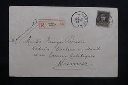 BELGIQUE - Enveloppe En Recommandé De Namur Pour Namur En 1934 - L 36838 - Cartas