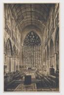AI85 Carlisle Cathedral, Choir And East Window - Cumberland/ Westmorland