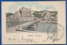 DINANT   Panorama   Armées En Campagne Avec Cachet Militaire  217° Régiment D'Infanterie  écrite En 1914 - Dinant