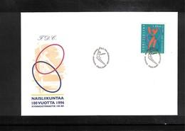Finland 1996 Gymnastics Interesting Cover - Gymnastik