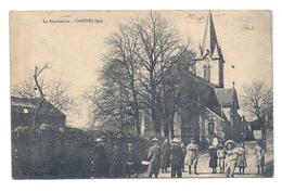 CPA Condes - La Récréation. 1909 - Autres Communes