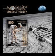 Hungary 2019 Mih. 6061 (Bl.429) Space. Apollo 11. Moon Landing MNH ** - Unused Stamps