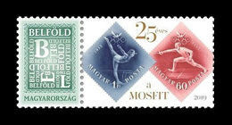 Hungary 2019 Mih. 5567X Hungarian Olympic And Sport Philatelic Association. Gymnastics. Fencing MNH ** - Hungary