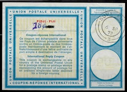 FIDJI FIJI Vi19 HS 18c /11 CENTSInternational Reply Coupon Reponse Antwortschein IAS IRC O SUVA FIJI 6.9.72 - Fiji (1970-...)
