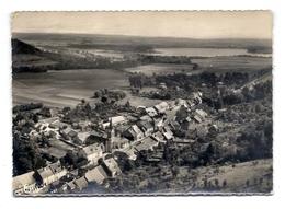 CPSM Longeau - Vue Panoramique Aérienne - En Arrière Plan, Le Réservoir De La Vingeanne - Le Vallinot Longeau Percey