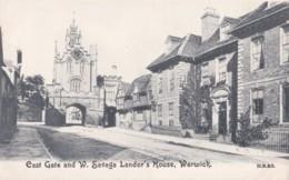 AR49 East Gate And W. Savage Landor's House, Warwick - Artist Drawn - Warwick