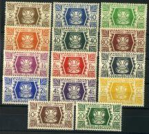 WALIS ET FUTUNAS  (  POSTE  ) : Y&T N°  133/146  TIMBRES  NEUFS  SANS  TRACE  DE  CHARNIERE , A  VOIR . - Wallis-Et-Futuna
