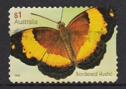 Australia 2016 Beautiful Butterflies $1 Bordered Rustic Self-adhesive Used - 2010-... Elizabeth II