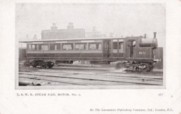 AS69 Trains - LSWR Steam Rail Motor No. 1 - Trains