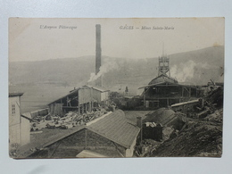 12 GAGES - RODEZ  Carte En état Concours - Mines Sainte-Marie  DEN924 - France