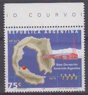 Argentina 1998 Antarctica / Base Decepcion 1v** Mnh (43912) - Argentinië