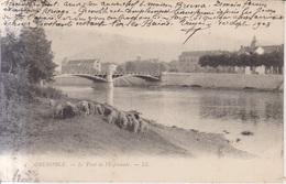 Grenoble Le Pont De L'Esplanade  1903 - Grenoble