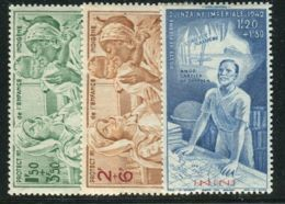 ININI( AERIEN )  Y&T  N°  1/3  TIMBRES  NEUFS  SANS  TRACE  DE  CHARNIERE . - Inini (1932-1947)