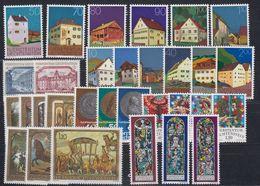 Liechtenstein 1978 Year (see Scan) ** Mnh (43913) - Liechtenstein